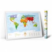 Карта Travel Map Kids Animals