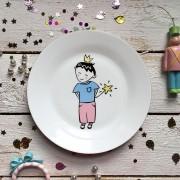 Детский набор посуды LITTLE KING. 3пр.