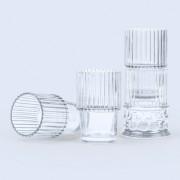 Набор стеклянных бокалов Hestia прозрачный, 4 шт