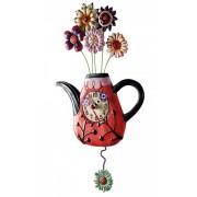 Часы Цветочный чай 42 см
