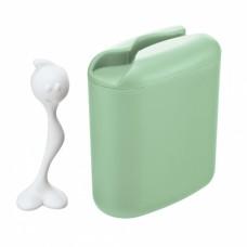 Контейнер для хранения продуктов с ложкой HOT STUFF L, мятный