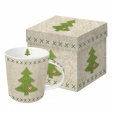 Кружка в подарочной упаковке Felt Xmas Tree 350 мл