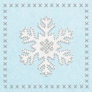 Салфетки Felt Snowflake бумажные 20 шт.