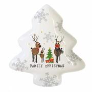 Тарелка Family Christmas большая