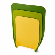 Набор из 3 разделочных досок Nest зеленый