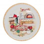 """Блюдо для пиццы 30 см """"Пиццерия"""""""