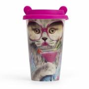 Стакан для кофе Cat